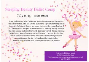 Sleeping Beauty Ballet Camp